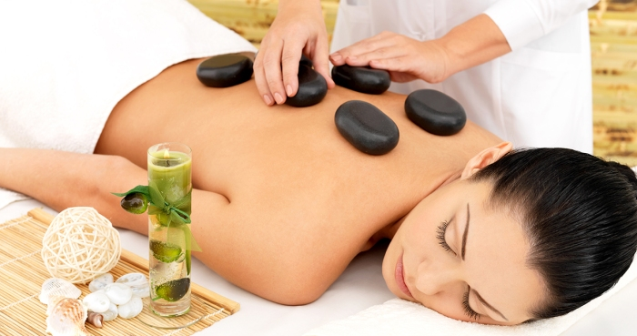 Special Offer on Hot Stones Massage