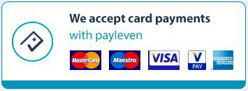 Card payment accepted
