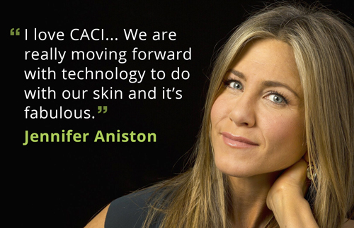 Jennifer Aniston loves CACI