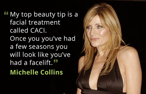 Michelle Collins loves CACI