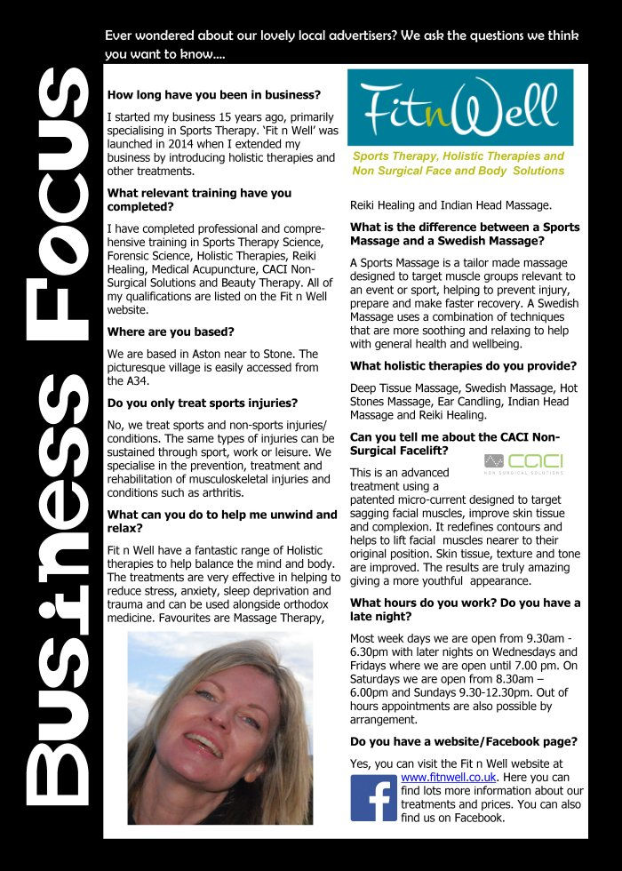 The Stone Local - Business Focus