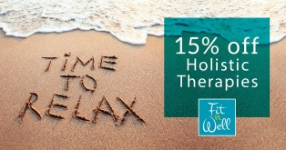 Time to Relax - 15% off Holistic Therapies